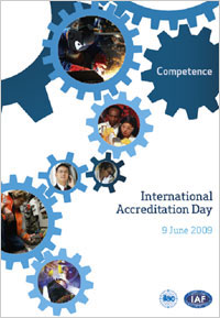 June 9th 2009 will mark International Accreditation Day